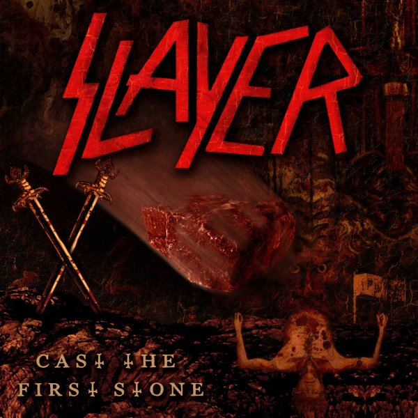 the threat of divine intervention as Divine intervention was a turning point in production quality for slayer, ushering in a much tighter, clean style,  dri, minor threat and the stooges.