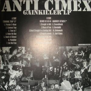 Anti Cimex Fucked In Finland - Live 92
