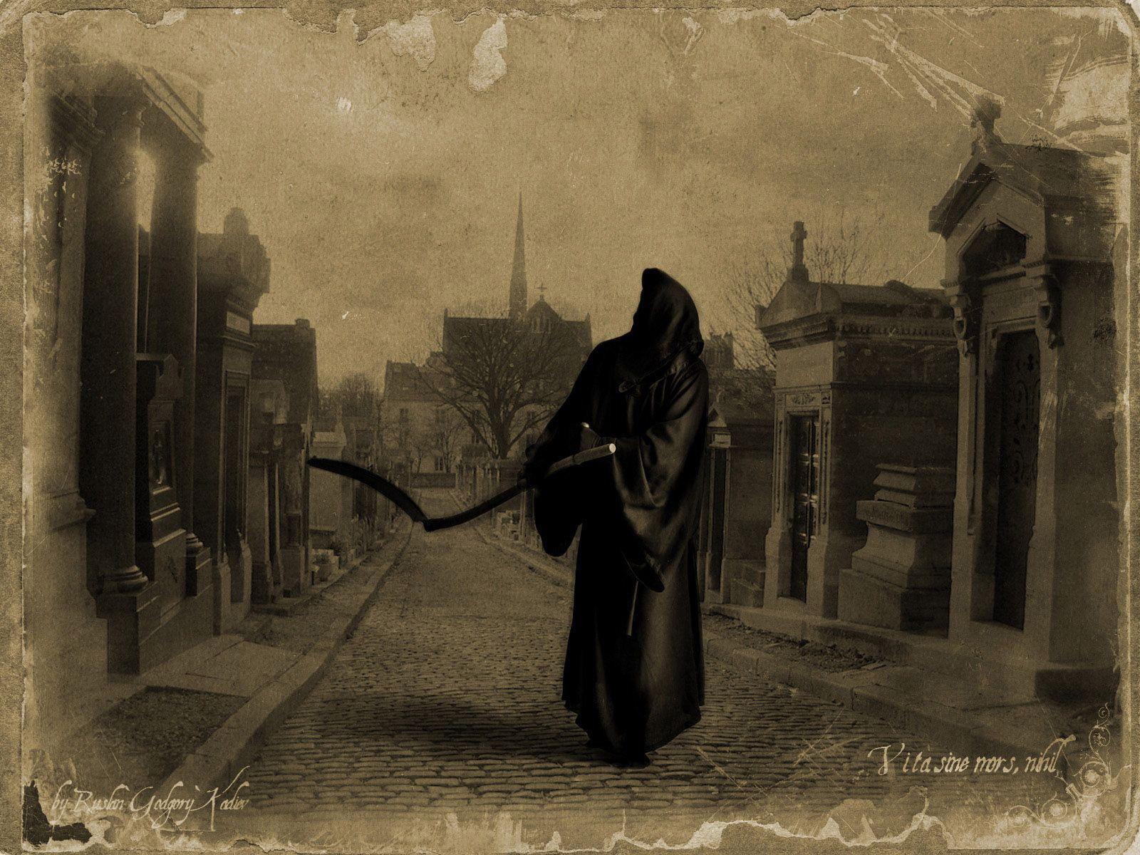 Фото картинок смерть с косой 9 фотография