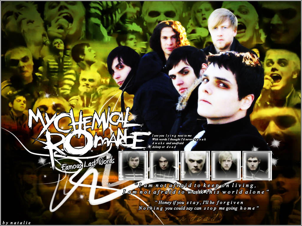 my chemical romance essay No compromise no surrender no fucking shit to me that's rock and roll and i believe in rock and roll, writes gerard way to all those my chemical romance fans left shocked and confused over the band's sudden break-up announced friday, frontman way offers you a new answer: a nearly 2,200-word explanation and discourse on why.